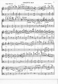 Paganini - Violin Concerto N4 - Piano part - first page