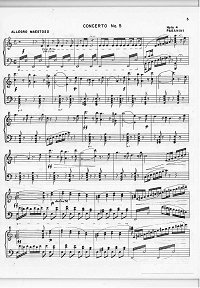 Paganini - Violin Concerto N5 a-moll - Piano part - first page
