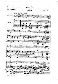 Alkan - Cello sonata op.47 - Piano part - first page