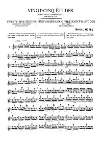 Moyse - Flute exercises - Flute part - first page