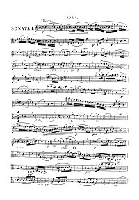 Onslow - Viola sonatas op.16 - Instrument part - first page
