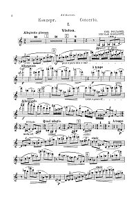 Roslavets - Violin concerto N1 - Instrument part - first page