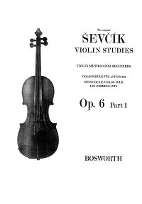 Sevcik - Violin school op.6 - Instrument part - First page