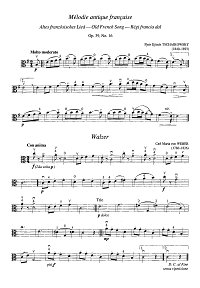 Viola pieces for beginners - Instrument part - first page