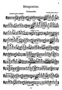 Instrument part - First page