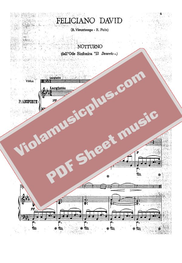 nocturne piano sheet music pdf