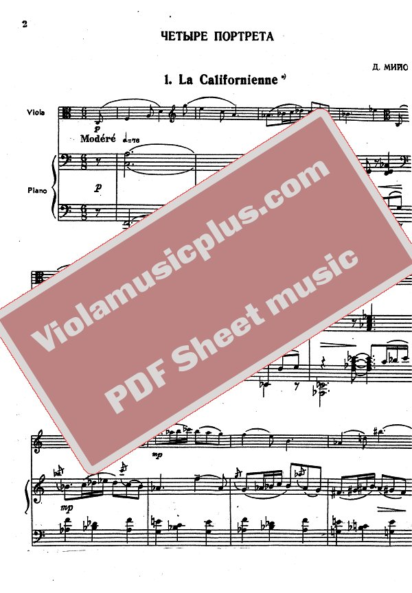 piano portraits sheet music pdf