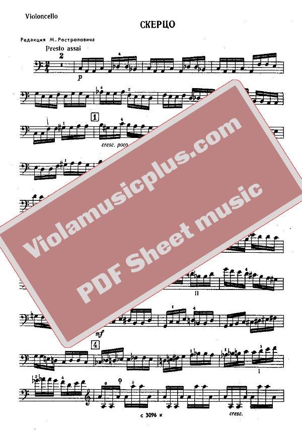 liebestraum cello and piano pdf
