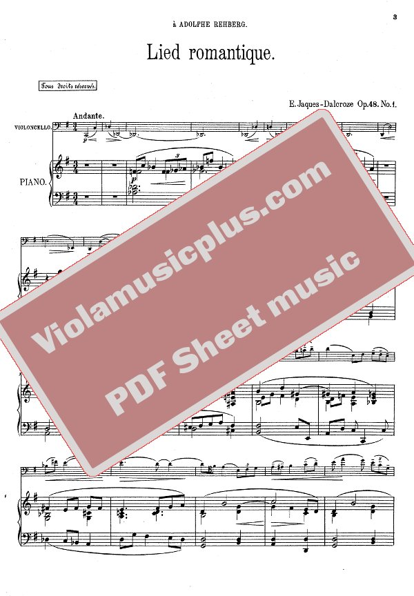 romantic piano sheet music pdf